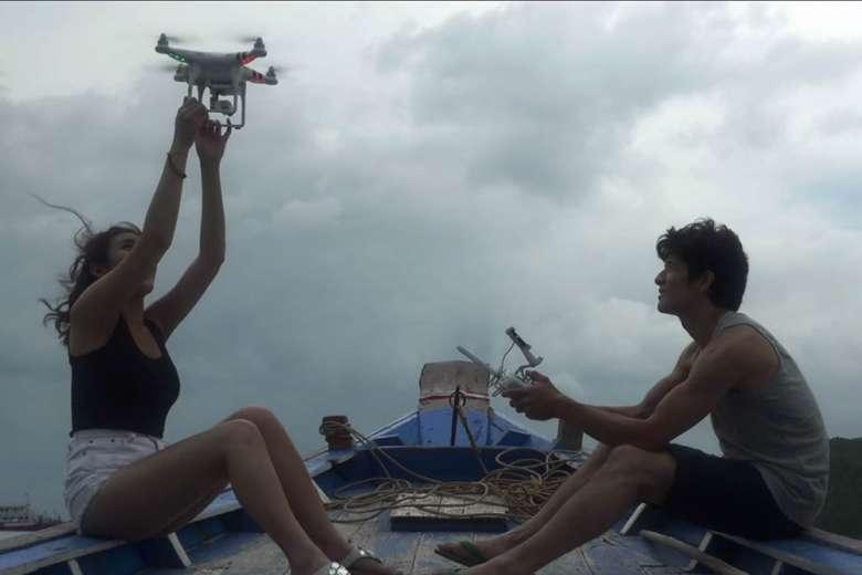 恋人とタイ、サムイ島へドローン・トリップ