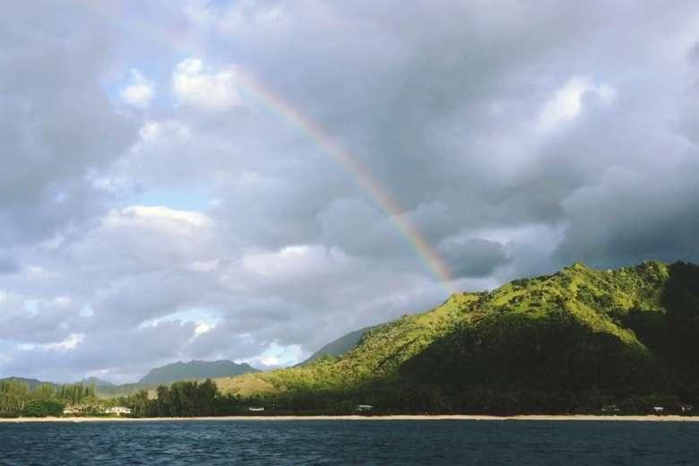 カウアイ島へのドローントリップ