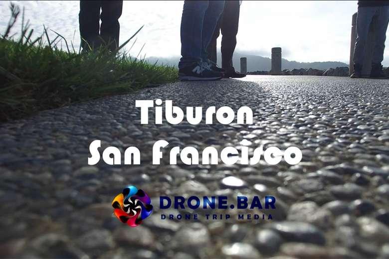 サンフランシスコの北にある高級住宅街、ティブロンへドローントリップ
