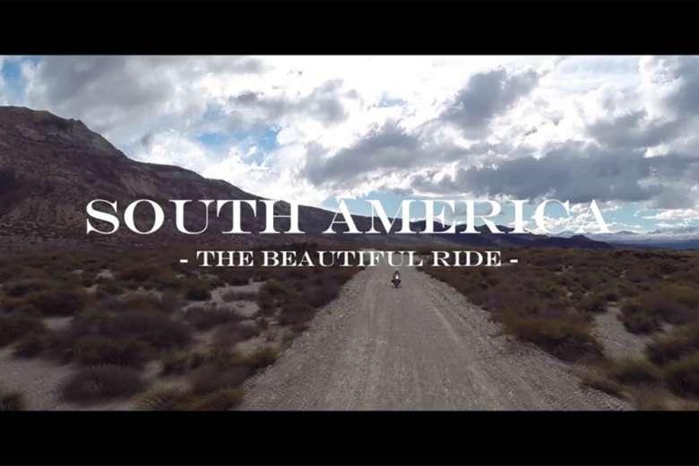 バイクに乗ってアルゼンチン、チリ、ボリビアをドローントリップ