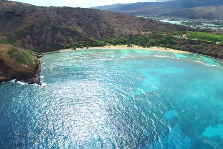 最高の楽園、ハワイの美しさをドローンで撮影