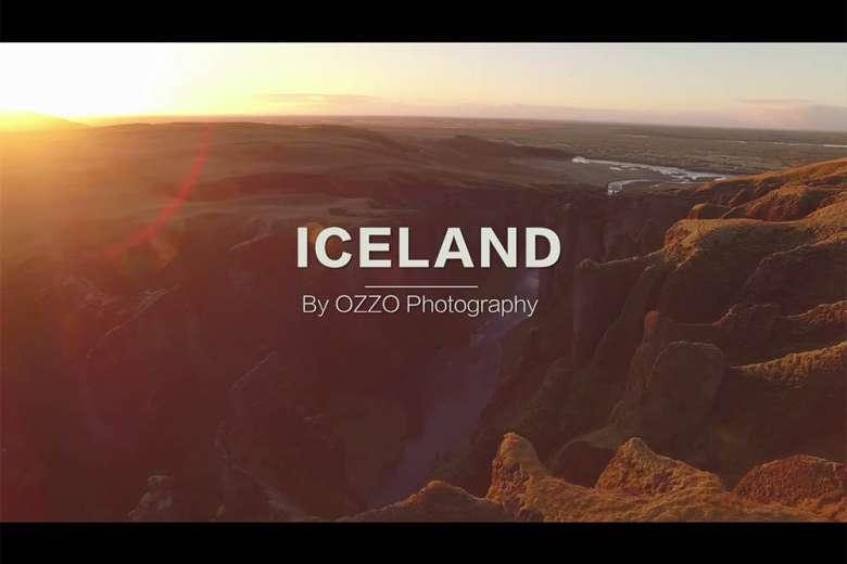 ドローンで撮影した圧倒的すぎるアイスランドの大自然
