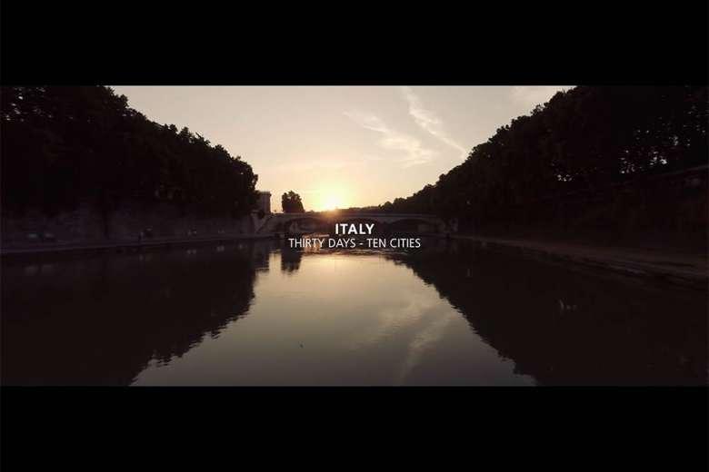 30日でイタリアの10都市を巡ったドローントリップの記録
