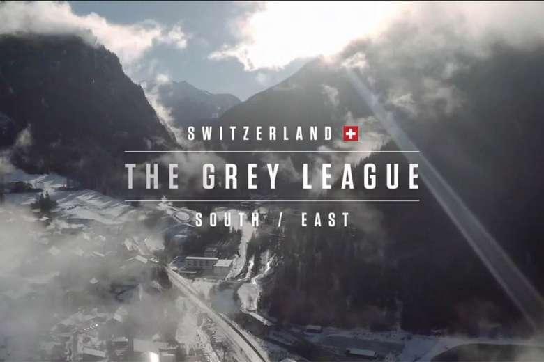 スイスへのドローントリップは「アルプスの少女ハイジ」の世界そのもの