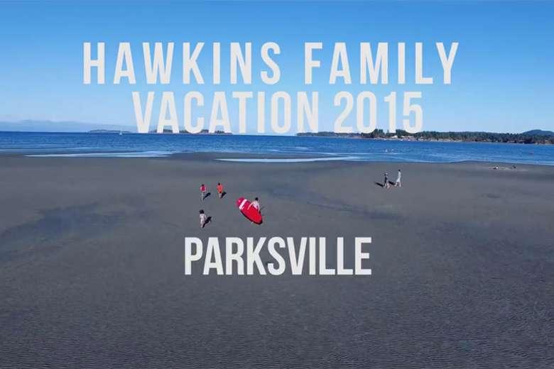 カナダのパークスビルへ家族でドローントリップ