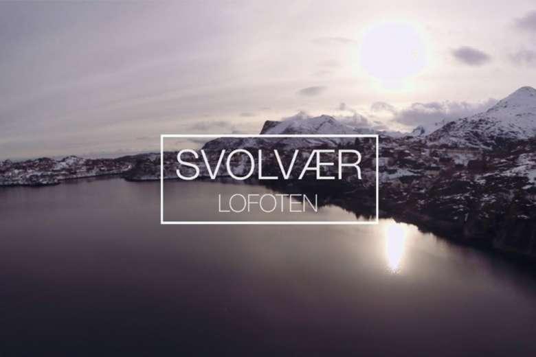 この景色を知らない人生はつまらない、ノルウェー・ロフォーテン諸島の絶景を空撮