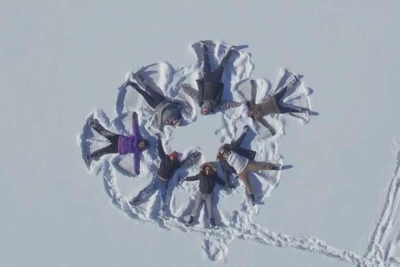 そこにあるのは美しい雪と家族と過ごす濃密な時間、アメリカのコロラド州ミーカー