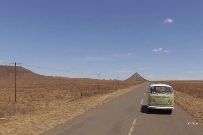 フォルクスワーゲン・コンビとともに周る南アフリカ