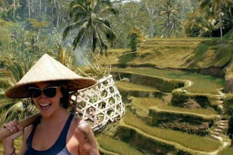 自然と人が共生するバリ島へドローントリップ
