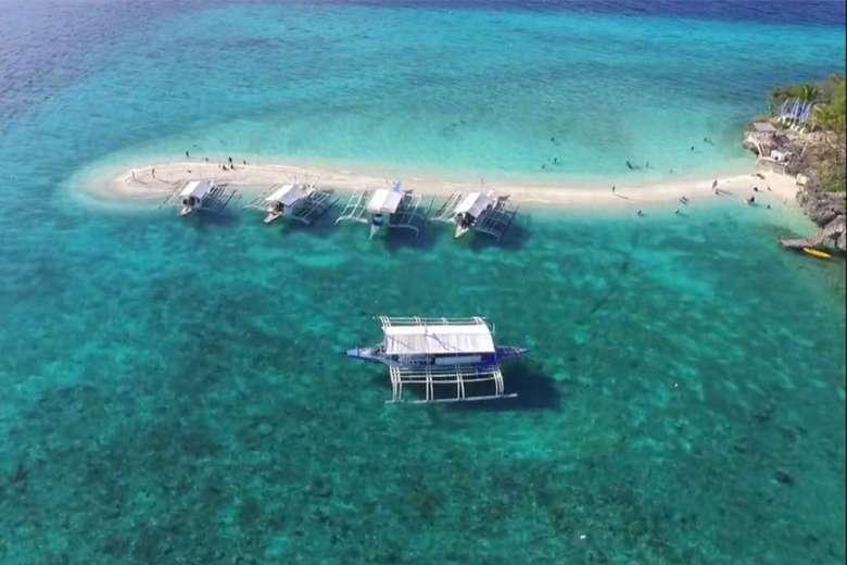 美しいフィリピンの楽園へドローントリップ