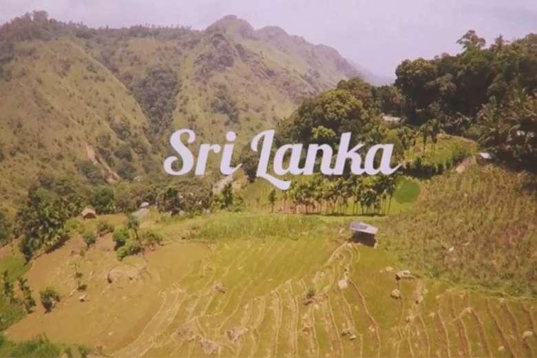 ドローンを持って、友人とスリランカへ行ってみた