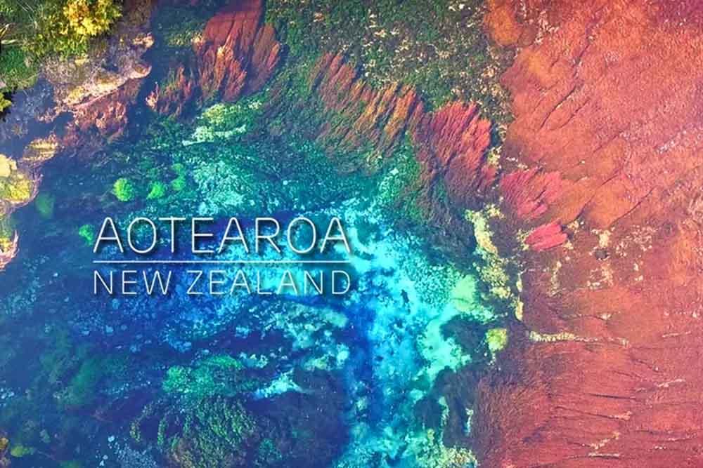 ハネムーンで過ごしたニュージーランド、大自然からの祝福をドローンで記録
