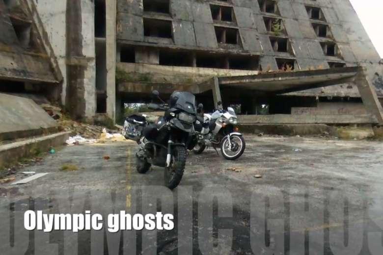 廃墟と化したサラエヴォオリンピック跡地をドローンで記録