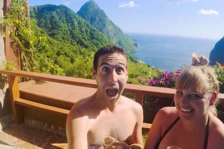 想像を超えていた楽園、憧れのカリブ海へハネムーン旅行