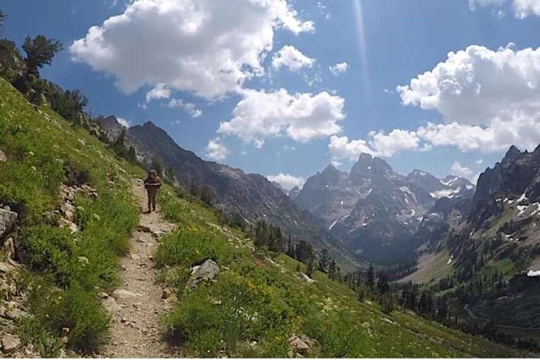 米国立公園の中で最も美しいと言われているグランドティトンを満喫