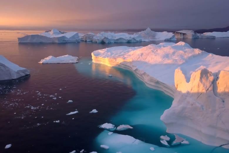 氷河の魅力をたっぷりと、グリーンランドをドローントリップ