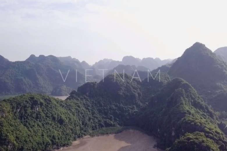 ドローンを連れて、原風景広がるベトナム北部へ