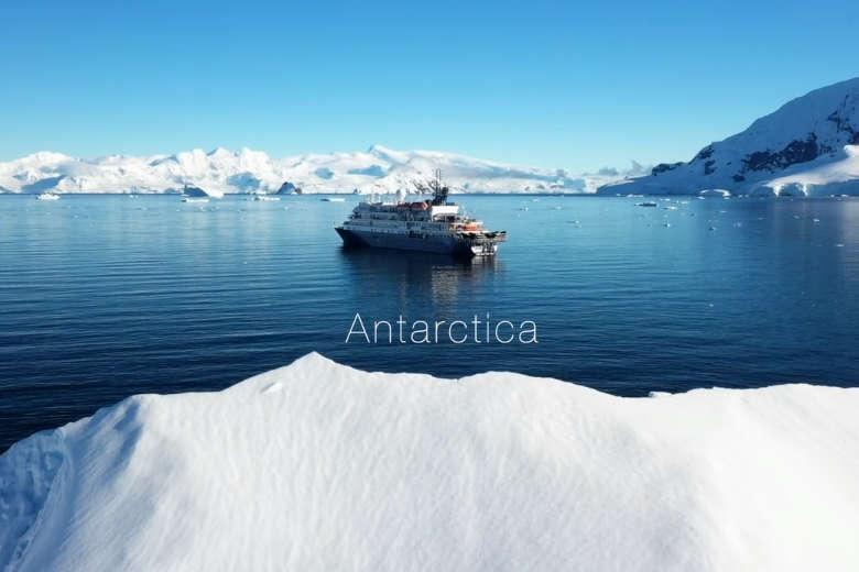 南極を旅してみたくなるドローン映像
