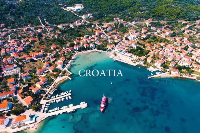 まるで絵画のよう!クロアチアをドローントリップ